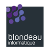 Logo carré Blondeau Informatique